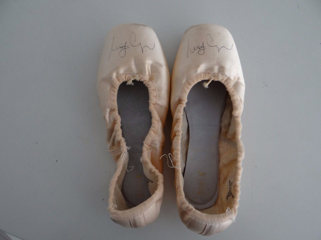 the evolution of the pointe shoe � from marie to misty